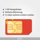 china prepaid sim karte