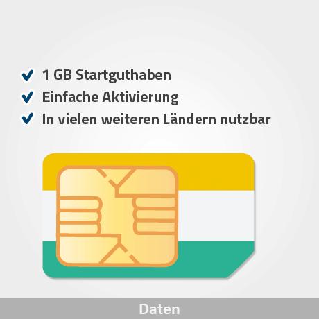 indien prepaid sim karte