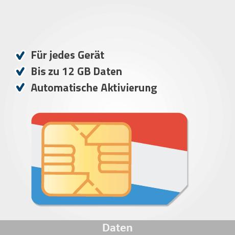 niederlande prepaid sim karte