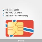norwegen prepaid sim karte