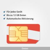 österreich prepaid sim karte