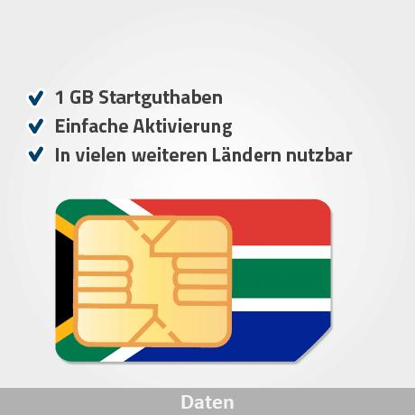 südafrika prepaid sim karte