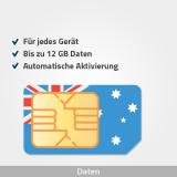 australien prepaid sim karte